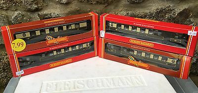 4 Hornby Assorted Oo Gauge Pullman Car Coach Coaches Boxed Bargain To Clear