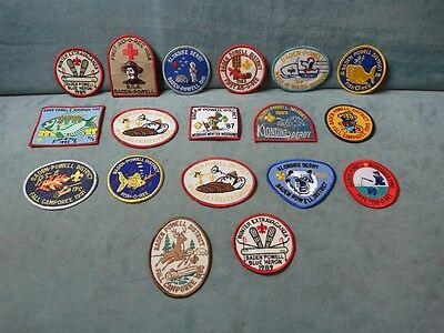 Vintage Boy Scouts Patches Lot of 18 Baden-Powell 1980-1995