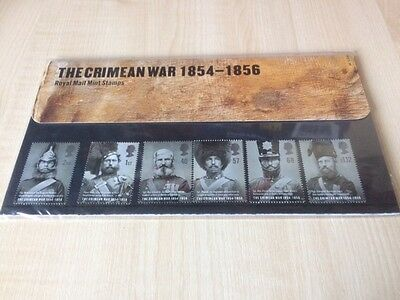 Stamps Great Britain Presentation Pack The Crimean War 1854-1956