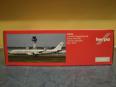 Herpa Wings 1:200 Airbus A 340-300 Luftwaffe Flugbereitschaf