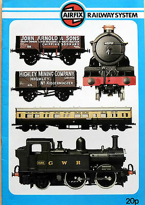 AIRFIX RAILWAY SYSTEM = CATALOGUE = locos, wagons, carriages, track layout,