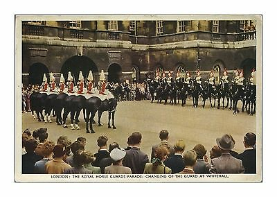 Royal Horse Guards Changing Guard Whitehall Posted 1953 Horse Guards Parade