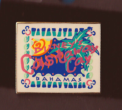 DCL pin DISNEY CRUISE LINE  - Castaway Cay - Painted