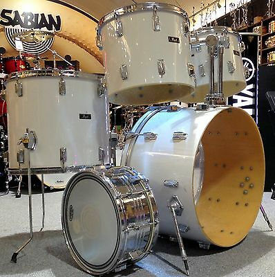 Pearl 70's Fiberglass 5pc drum shell pack - Pre-owned