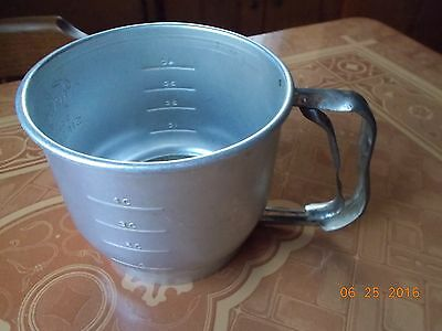 Vintage Foley Aluminum 5 Cup Sifter