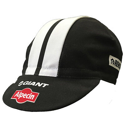 GIANT ALPECIN 2016 PRO CYCLING TEAM BIKE CAP - Made in Italy