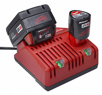 Milwaukee M12-18C multi port battery charger for m18 and m12 batteries New 240v