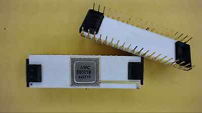 NEC D8058A 40-Pin Dip Gold & White Ceramic IC New Quantity-1