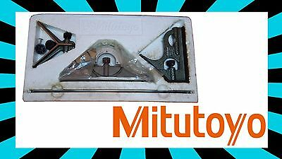 High Quality Mitutoyo Combination Sets Model No. 180-905 NICE square protractor