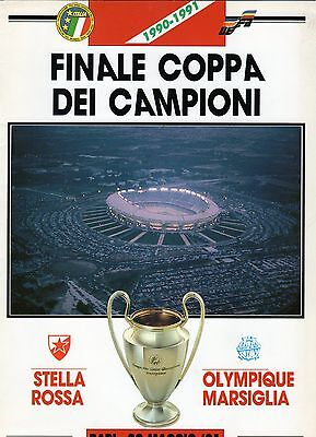1991 European Cup Final Marseille V Red Star Belgrade