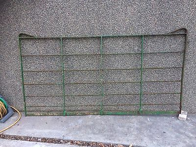 Old Wrought Iron Gate. 8ftx4ft