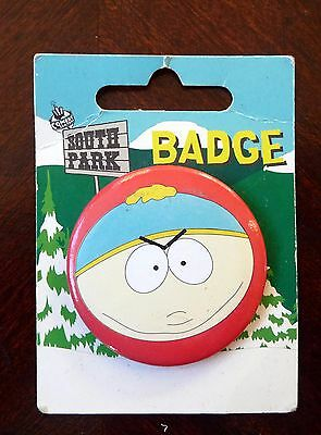 New on Card 1998 Comedy Central South Park Pin Badge-4.5 cm