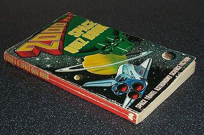 Rare 2000AD SPACE QUIZ BOOK - p/b - Mirror Books 1st 1980 - Puzzles Not Done VG