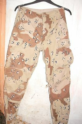 Us Army Choc Chip Combat Trousers  Used  Genuine Us Issue  £15