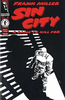 FRANK MILLER - SIN CITY - A Dame to kill for 1/6