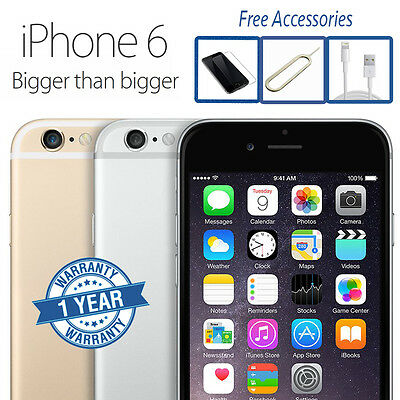 Apple iPhone 6 16GB 64GB (Unlocked) Smartphone Excellent A Condition