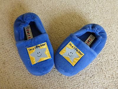 Kids Felt slippers with star motif, size 12/13