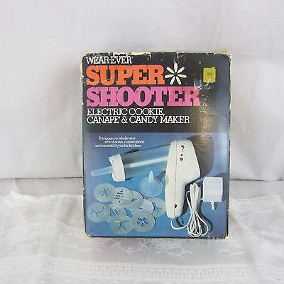 Wear-Ever Super Shooter Electric Cookie Press Food Gun 70001 Wearever