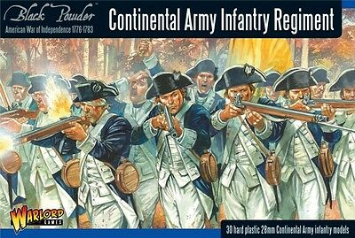 Warlord Games 28mm Continental Army Infantry Regiment # WGR-AWI-04