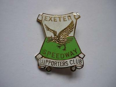 Exeter Speedway Supporters Club Enamel Badge