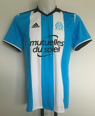 Olympic Marseille 2016/17 S/s 3Rd Shirt Thauvin 26 By Adidas Size Small New