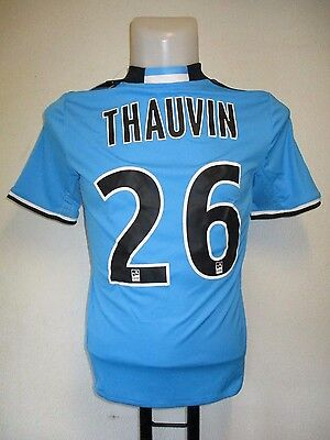 Olympic Marseille 2016/17 S/s 3Rd Shirt Thauvin 26 By Adidas Size 13/14 Years