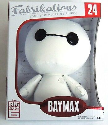 ESL832. BIG HERO 6 BAYMAX Soft Sculpt Plush #24 Fabrikations by Funko (2015)