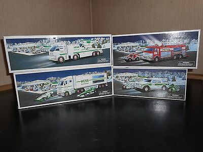 Hess Trucks Lot Of 4 2003-2006 All In New Condition Some Box Issues