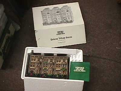 Dept 56 Dickens' Village 1996 Mulberrie Court Lighted Building #58345 NO CORD