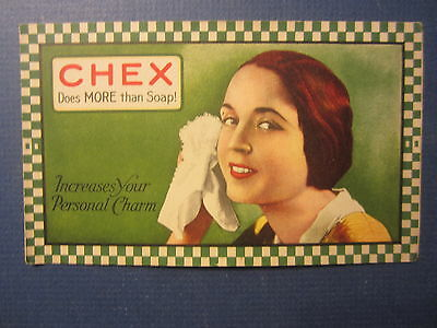 Old Vintage - CHEX SOAP - Advertising Booklet - Does More Than Soap !