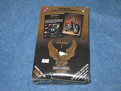 1992 Harley Davidson Collector Cards Series 1 Factory Sealed Box of 36 B8405