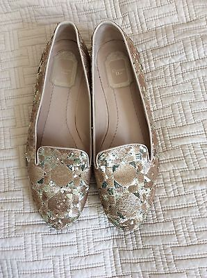 beauful christian dior flat shoes size 38.5