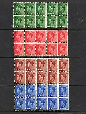 (A351) Edward Viii Mint Never Hinged Set In Blocks Of 10