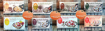 8 Kind, Fresh Turkish Delight by Koska / 125 g / 4.41 oz / 0.28 lbs