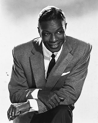 "Nat King Cole 10"" x 8"" Photograph no 1"