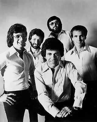 "Frankie Valli and the Four Seasons 10"" x 8"" Photograph no 1"