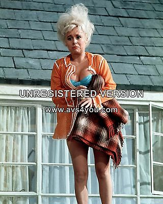 """Barbara Windsor Carry On Films 10"""" x 8"""" Photograph no 109"""