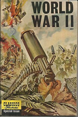 World War II #166A Classics Illustrated Special Issue 1962 FN