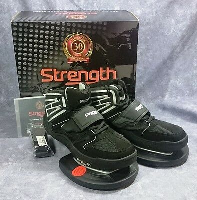 Strength Systems ~ Strength Taining Shoes ~ Size 13 ~ Black Silver