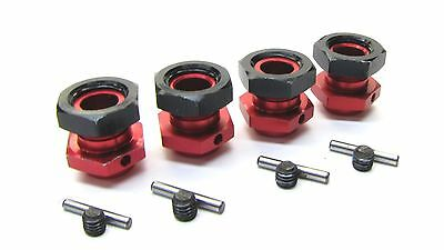 Arrma OUTCAST 6s BLX - 17mm Hex Hubs (16.5mm Adaptors Wheel Kraton nuts AR106021