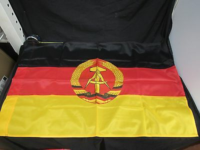 East German Flag With Hammer and Compass Canvas