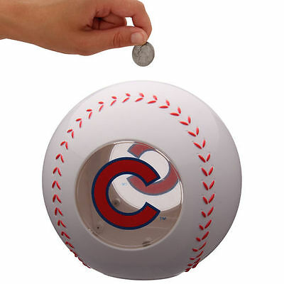 Chicago Cubs Clear Ball Bank - MLB