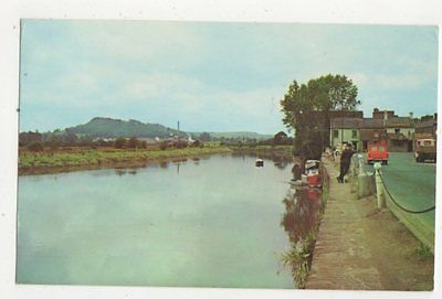 The Quay & River Towy Carmarthen 1967 Postcard 450a