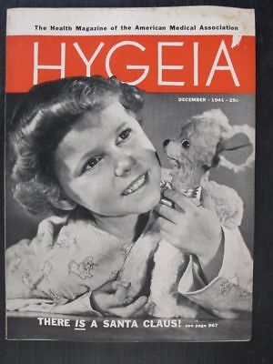 Hygeia Magazine December 1941 There Is A Santa Claus