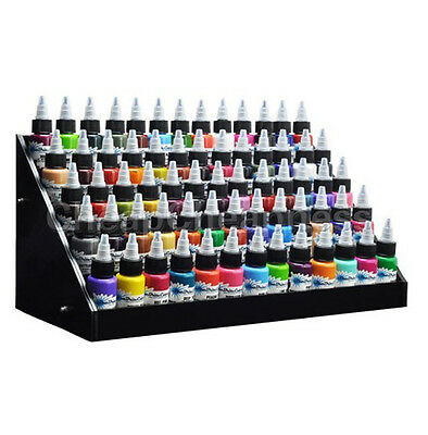 Organize Tattoo Large Ink Display Stand 5tier Rack Organizer Table Counter LAUS