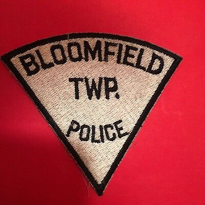 Bloomfield  Michigan Police Shoulder Patch Used