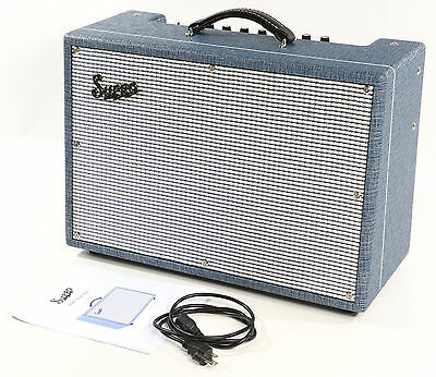 """Supro 1624T Dual-Tone - 24W 1x12"""" Guitar Combo Amp MINT CONDITION"""