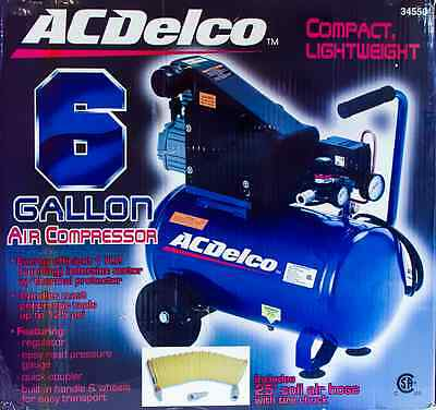 ACDelco 1HP 5.4 CFM air compressor