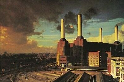 PINK FLOYD ~ FLYING PIG ~ 24x36 MUSIC POSTER Animals Album NEW/ROLLED!