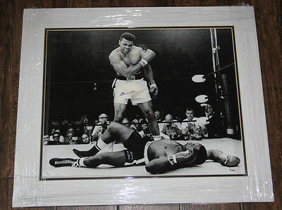 Muhammad Ali Signed Autographed Auto 16X20 Matted Photo Steiner Jsa Loa #z16707